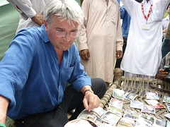 Andrew Mitchell in Pakistan