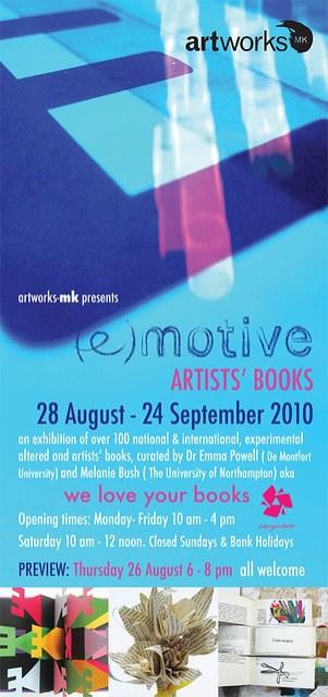 (e)motive Artists' Books