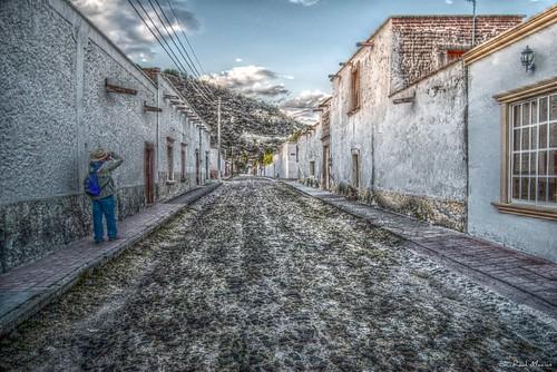 Haciendo fotos, Calle Temacapulin