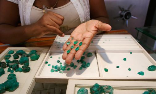 Emeralds in Colombia