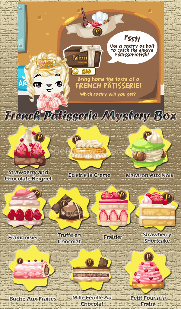 448 French Patisserie Mystery Box