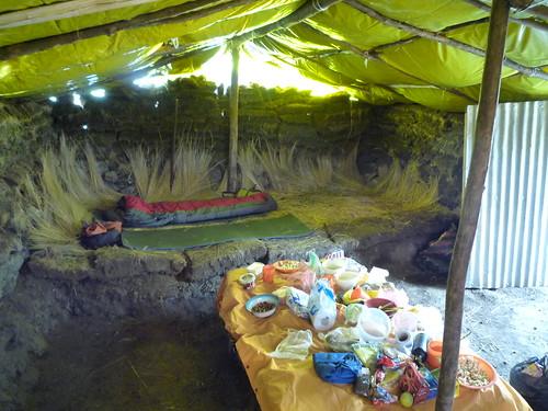 Unser Lehmhaus bei den Schaefern, Anden-Trekking