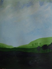 "Art practice: ""Blue Sky, Green Fields"" (6 of 7)"