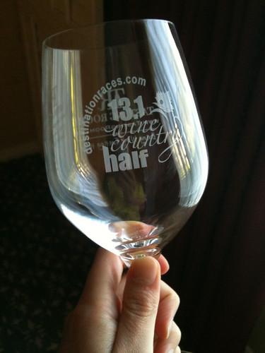 Souvenir Wineglass