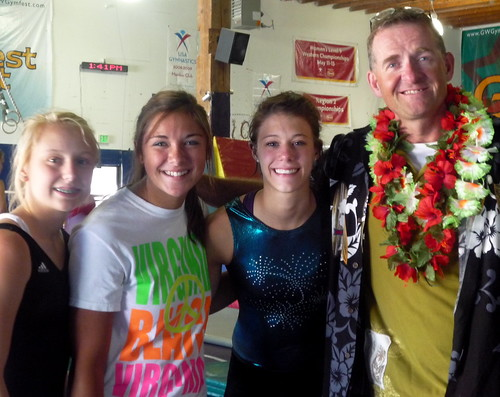 Gymnastics High Performance Training Camp - Heidi's pics