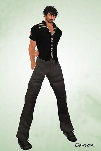 HB - Madden - Black HB - Manny - Twill Work Pants Black