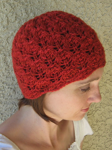 Flower Bud Beanie side