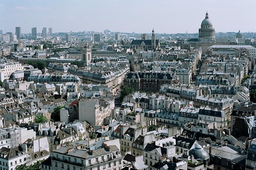 paris from atop