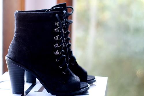 Saturday: Peeptoe Boots
