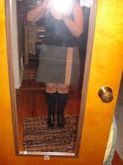 Wool skirt I'm on the fence about.