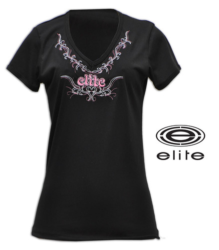 February 2011 Elite Store black pink embroidered