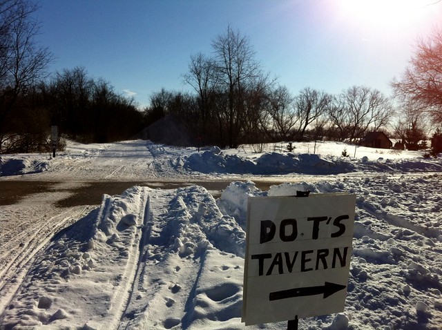 Dot's Tavern - That way.