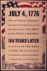 """July 4th 1776. When our Declaration of I..."