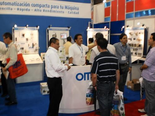 Omron Automatizacion Industrial Mexico - Stand 1991 pasillo PMMI