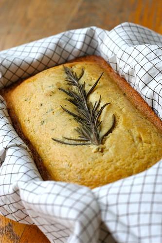 Sweet Rosemary Cornbread 1
