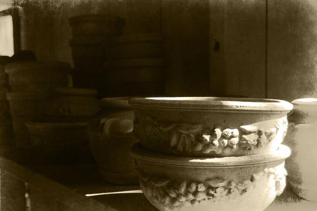 Copper Potting Shed