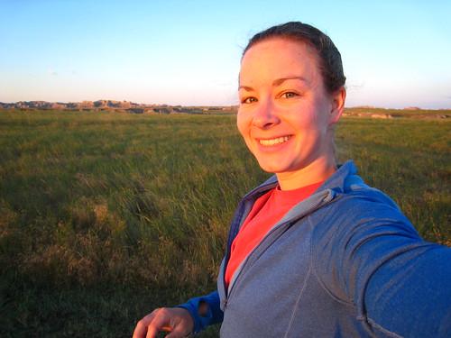 good morning at Buffalo Gap National Grasslands
