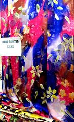 Kaplan's Fabrics - Handpainted Silk