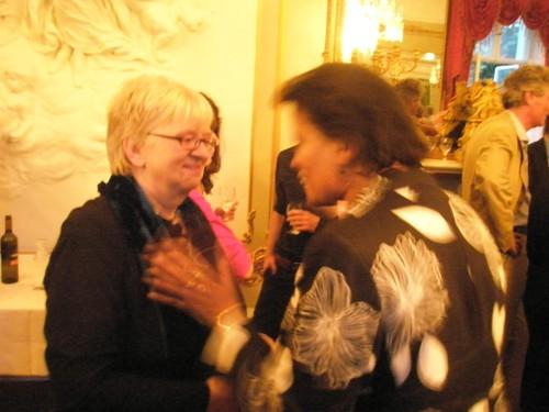 goethe institute reception at IFLA2010