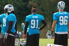 Everette Brown and Tyler Brayton