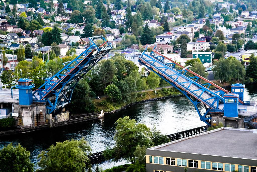 Fremont bridge opening