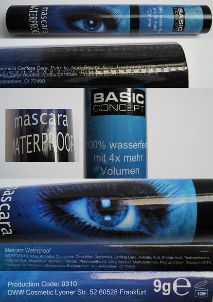 Basic Concept Waterproof Mascara1