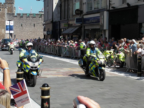 Cardiff Armed Forces Day-Parade from Cardiff Castle