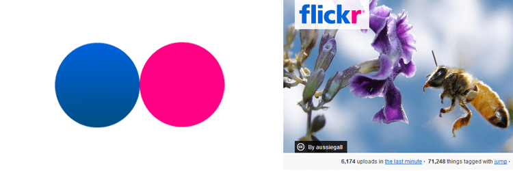 flickr design