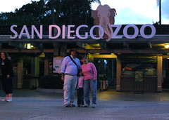 Family at San Diego Zoo