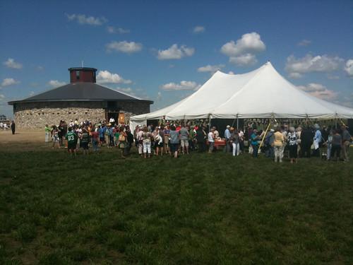 Bell Farm Round Barn Grand Opening, Indian Head Saskatchewan