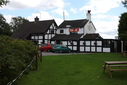 The Romping Donkey, Hassall Green