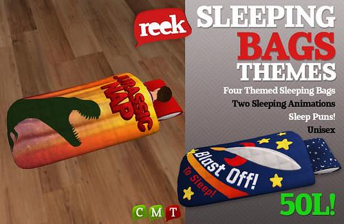 Reek - Sleeping Bags - Themes!