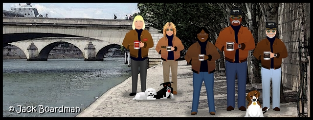 At the River Seine