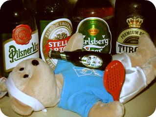 federbear drunk