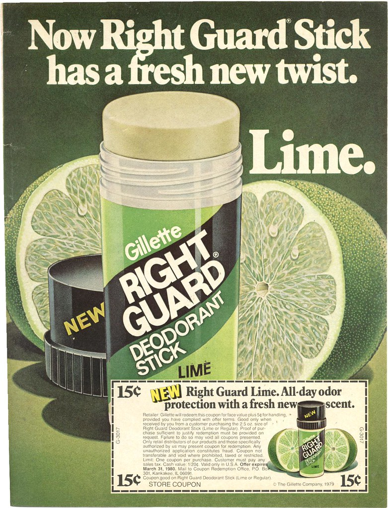 Right Guard Lime Deodorant