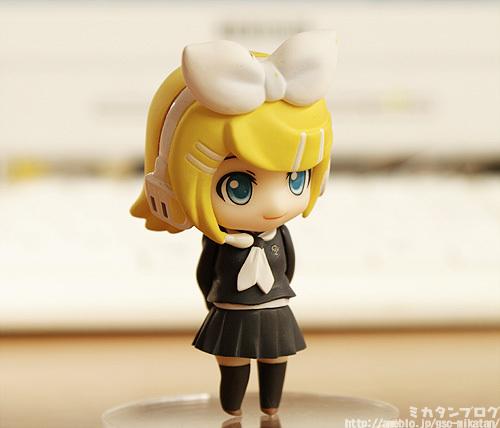 Nendoroid Petit Kagamine Rin with Taiga's body ヽ(´▽`)/