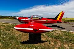 Belgian Open Aerobatic Championship Koksijde 2017 - Belgian Red Devils - SIAI-Marchetti SF-260M