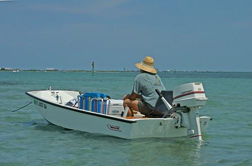 AJ-in-Boat