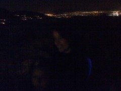 My girls dancing above the city