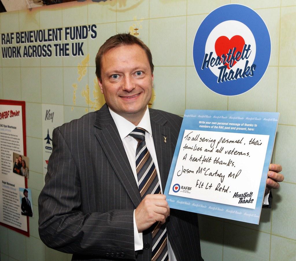 RAF Benevolent Fund Reception