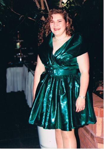 Me at my senior prom (1993)