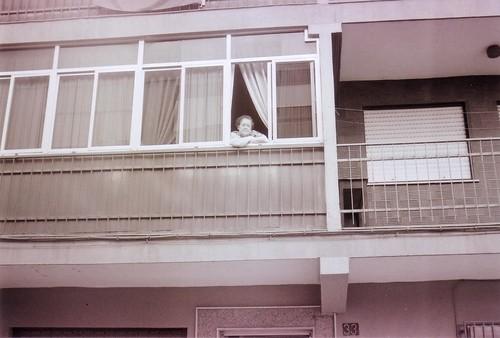 Mi abuela en la ventana