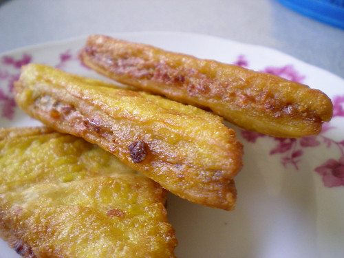 French toast with sardine - Malay style