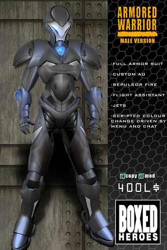 Armored Warrior Male Vendor