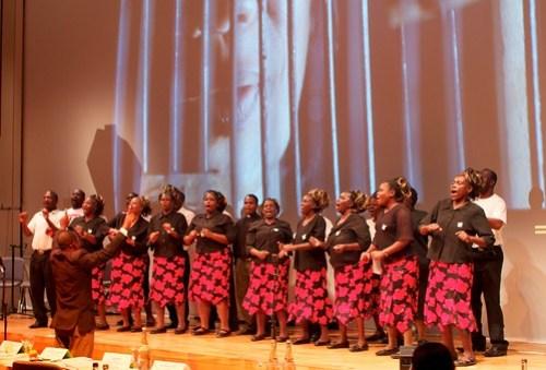 Zimbabwe choir sings