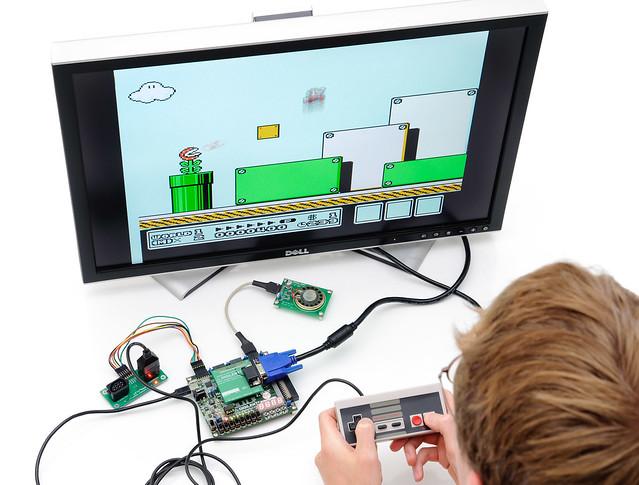 NES in an FPGA