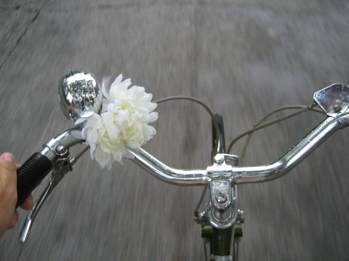 Rainy day bike commute