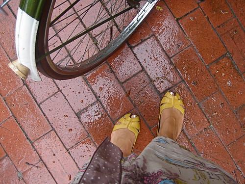Rainy commute