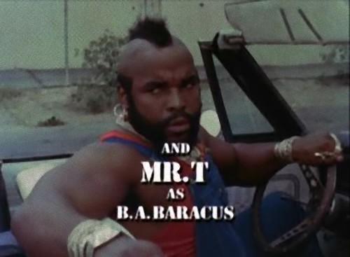 Mr. T as B.A. Baracus