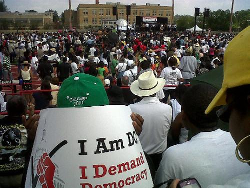 Al Sharpton Rally
